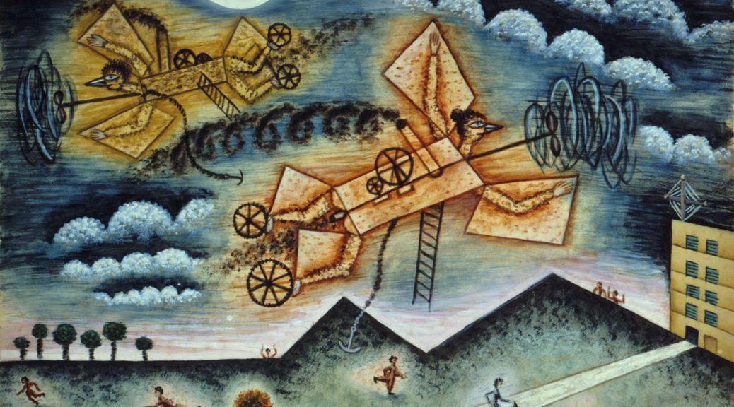 Mestizos de Avión y Gente – 1936 - Xul Solar
