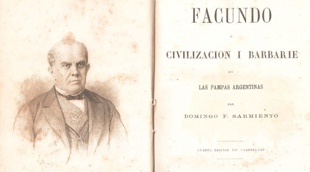 """carátula de """"Facundo"""""""