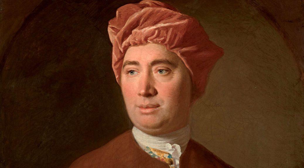 retrato de Hume