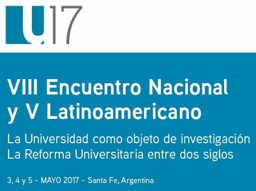 VIII Encuentro Nacional y V Latinoamericano La Universidad como objeto de investigación