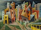 Barrio – 1953 - Xul Solar